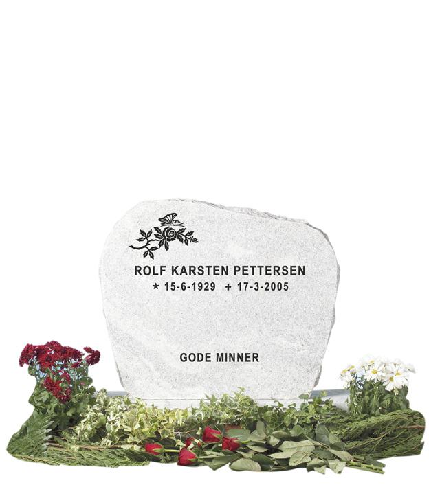 Bilde Komplett gravsten 206