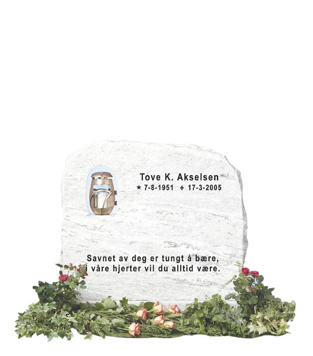 Bilde Komplett gravsten 200