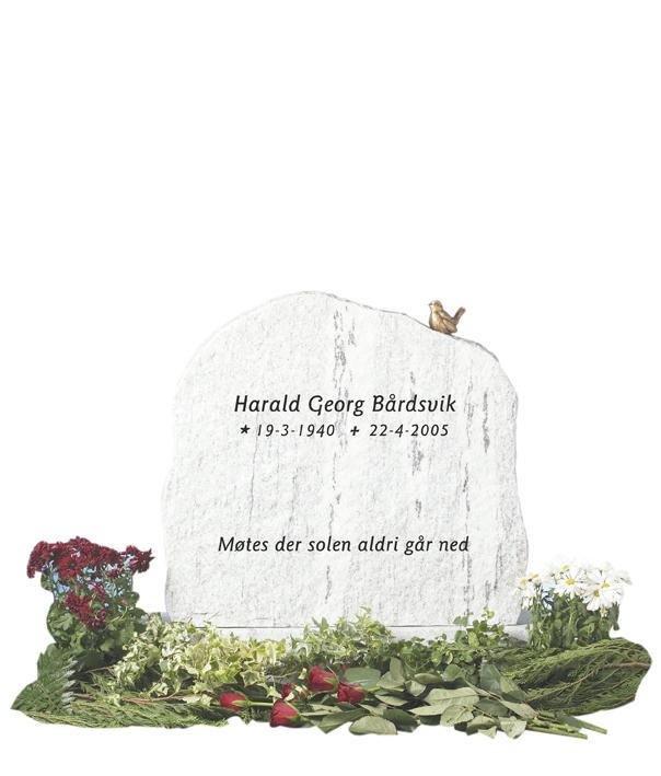 Bilde Komplett gravsten 202