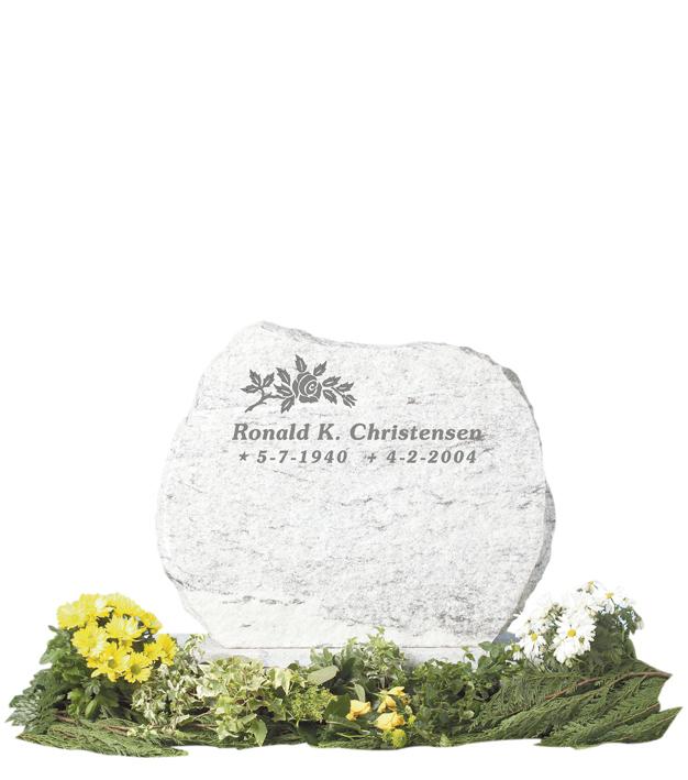 Bilde Komplett gravsten 205