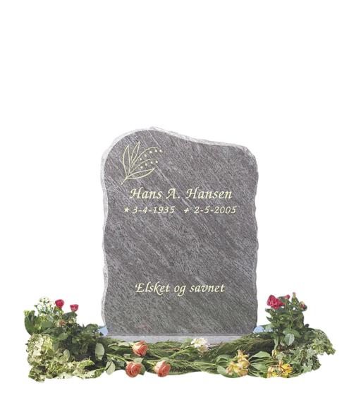 Bilde Komplett gravsten 218