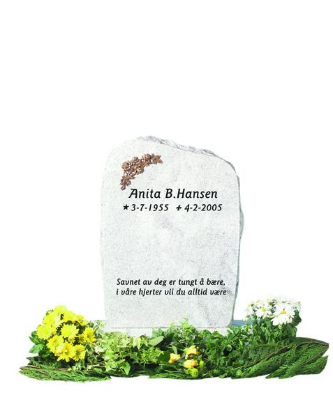 Bilde Komplett gravsten 207