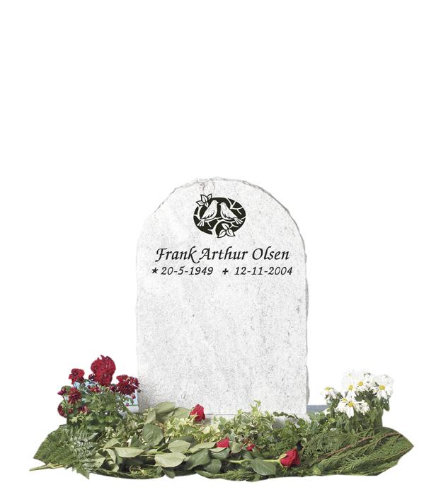 Bilde Komplett gravsten 208
