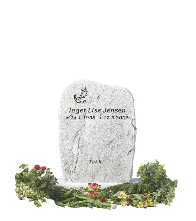 Bilde Komplett gravsten 210 (L)