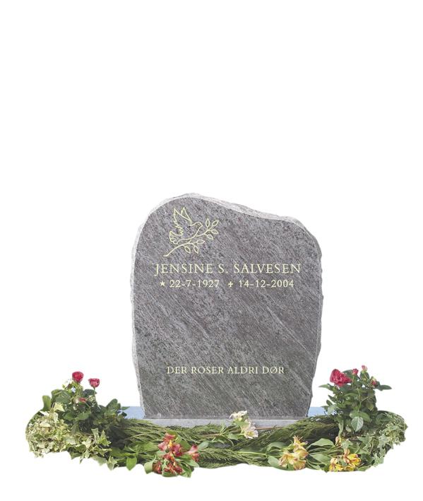 Bilde Komplett gravsten 211