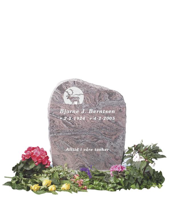 Bilde Komplett gravsten 212