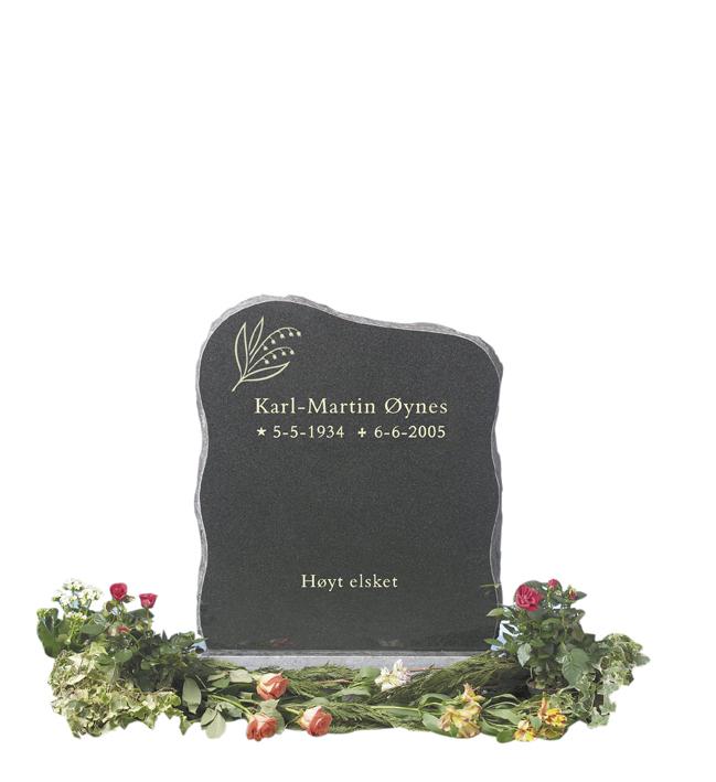 Bilde Komplett gravsten 213