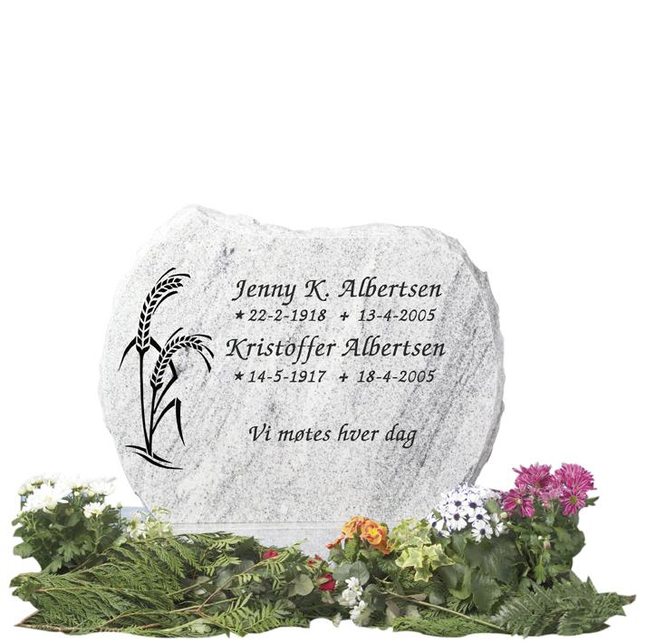 Bilde Komplett gravsten 214