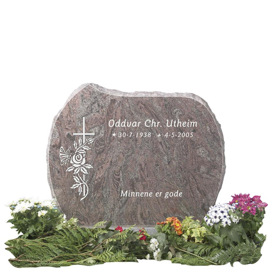 Bilde Komplett gravsten 215 (L)