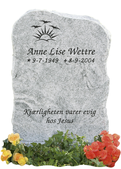 Bilde Komplett gravsten 216 (L)