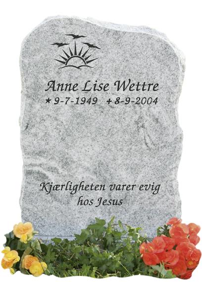 Bilde Komplett gravsten 216