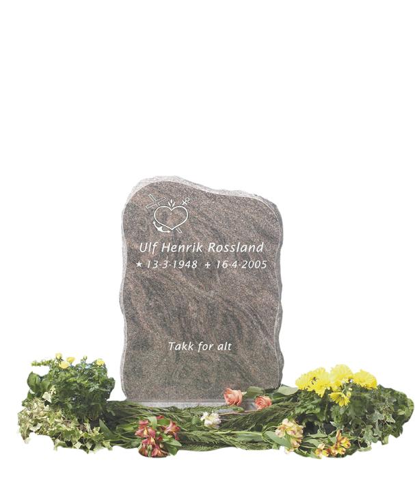 Bilde Komplett gravsten 217