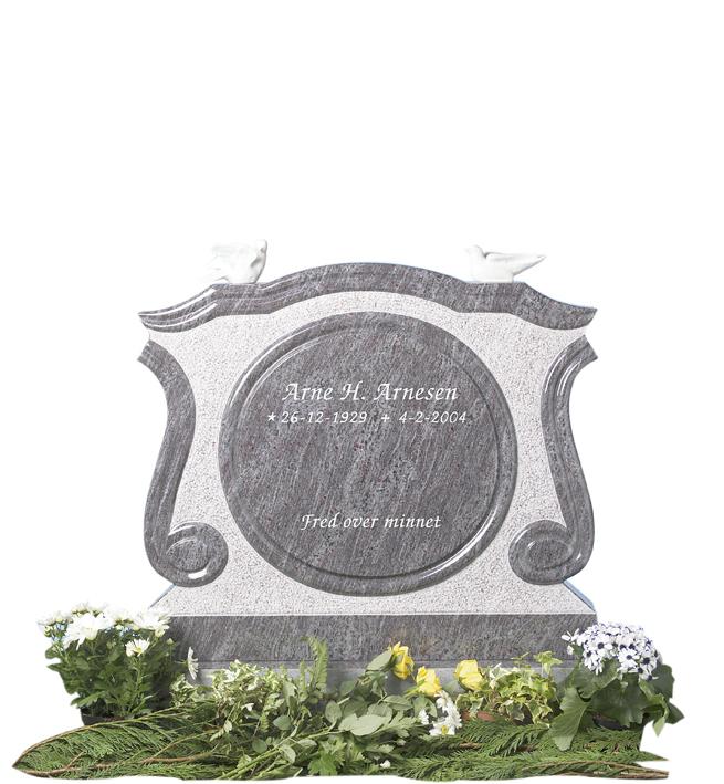 Bilde Komplett gravsten 237