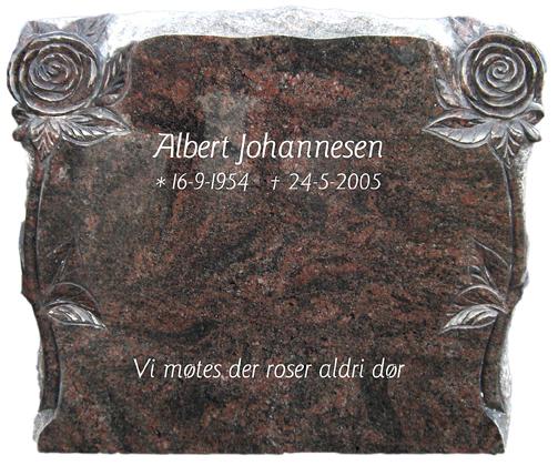 Bilde Komplett gravsten 221