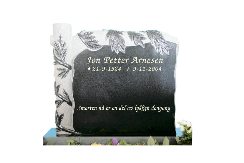 Bilde Komplett gravsten 222