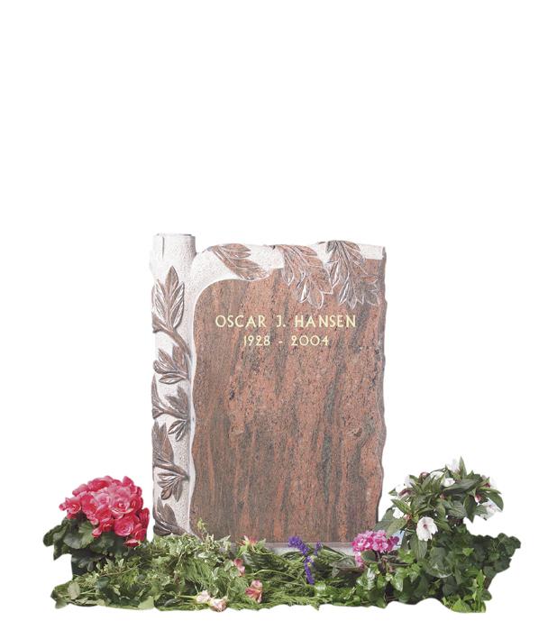Bilde Komplett gravsten 223