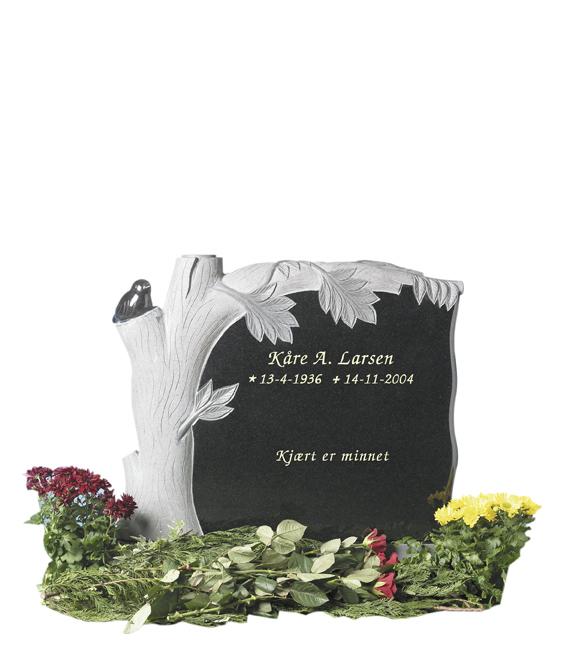 Bilde Komplett gravsten 225