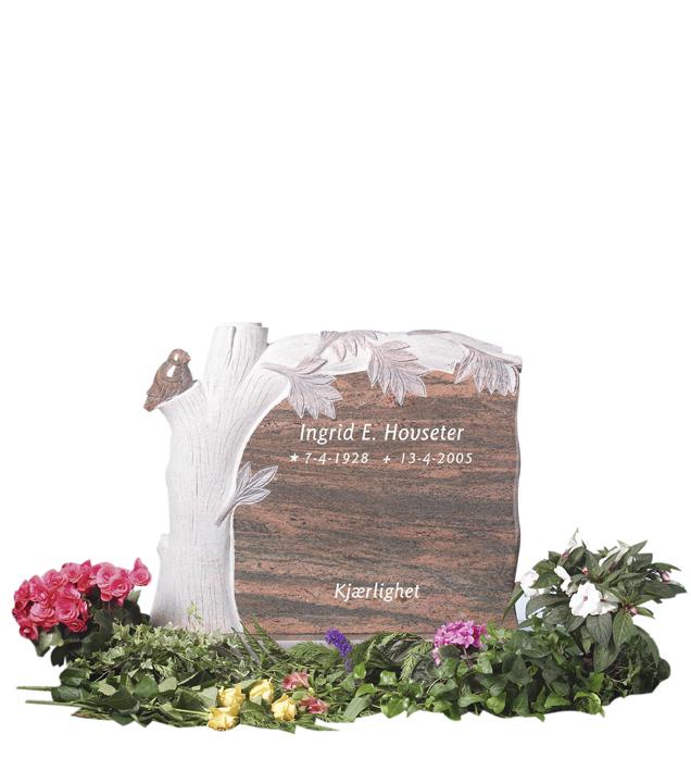 Bilde Komplett gravsten 226
