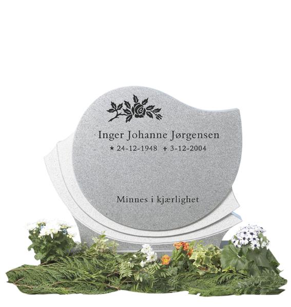 Bilde Komplett gravsten 233