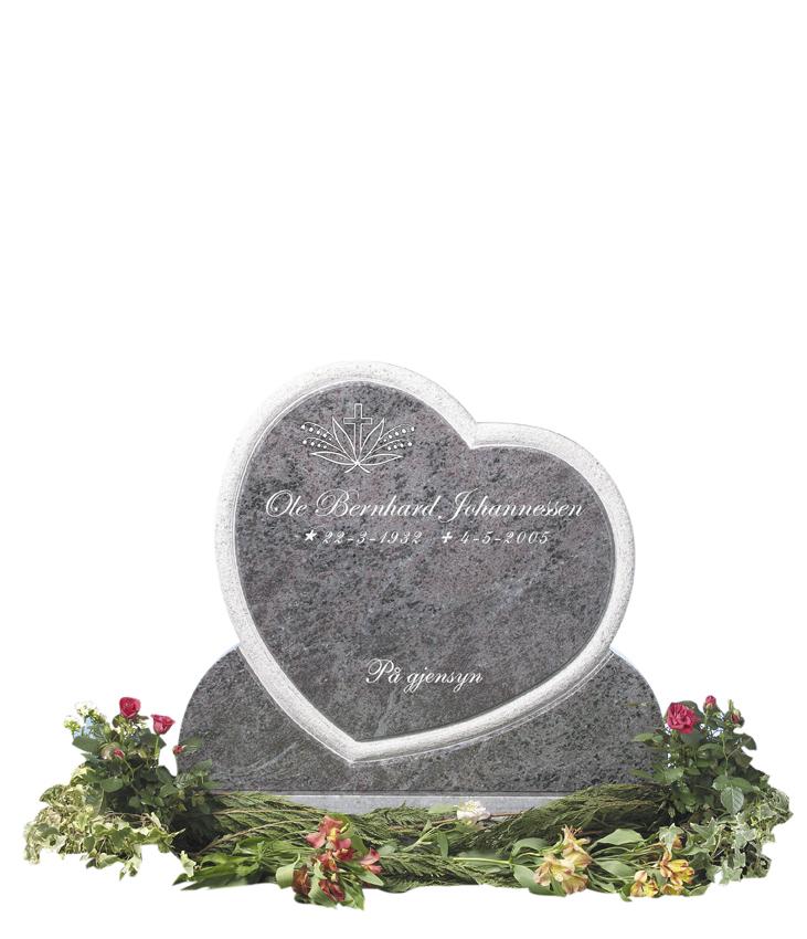 Bilde Komplett gravsten 234