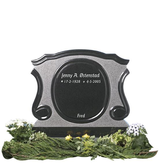 Bilde Komplett gravsten 236