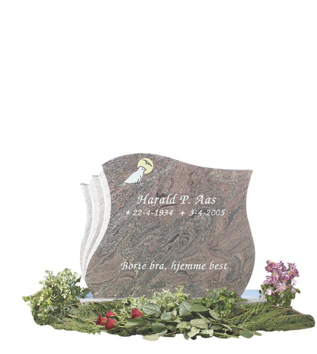 Bilde Komplett gravsten 239 (L)