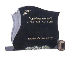 Bilde Komplett gravsten 240 (L)