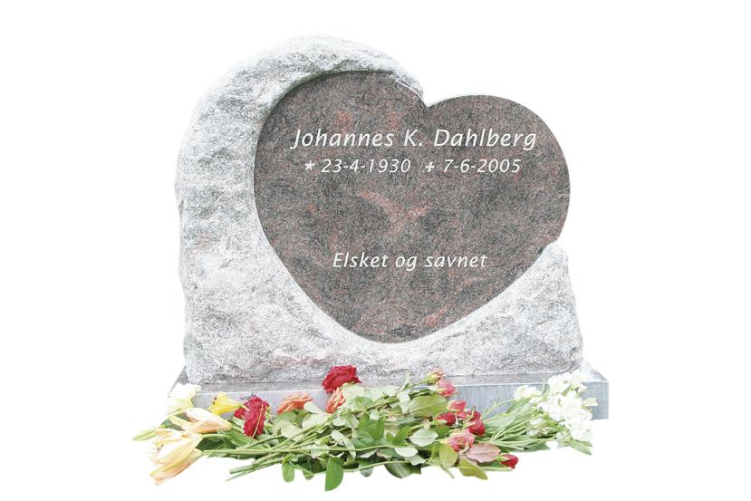 Bilde Komplett gravsten 241