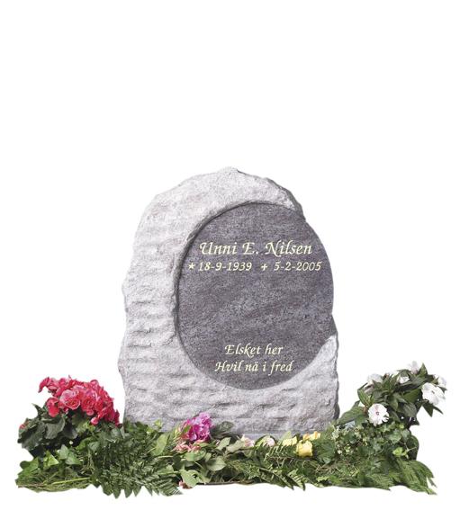 Bilde Komplett gravsten 243