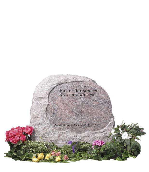 Bilde Komplett gravsten 244