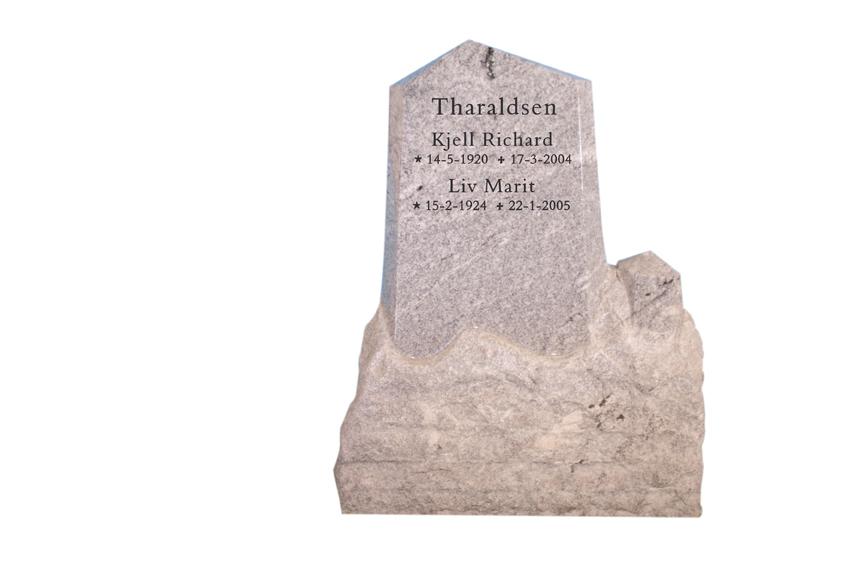 Bilde Komplett gravsten 245