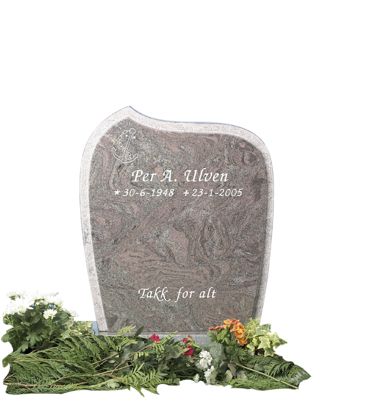 Bilde Komplett gravsten 246
