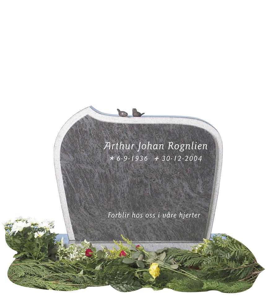Bilde Komplett gravsten 247
