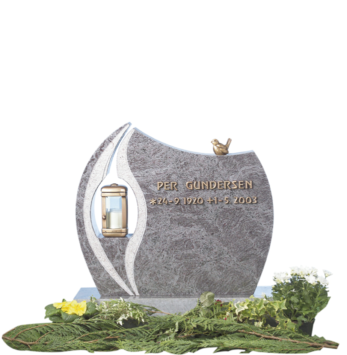 Bilde Komplett gravsten 250 (L)