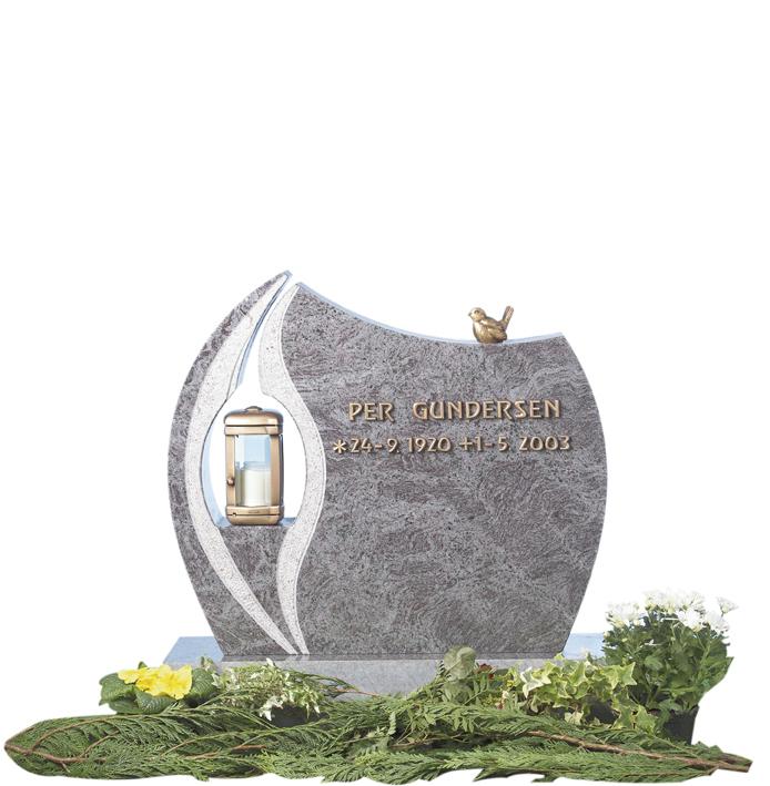 Bilde Komplett gravsten 250