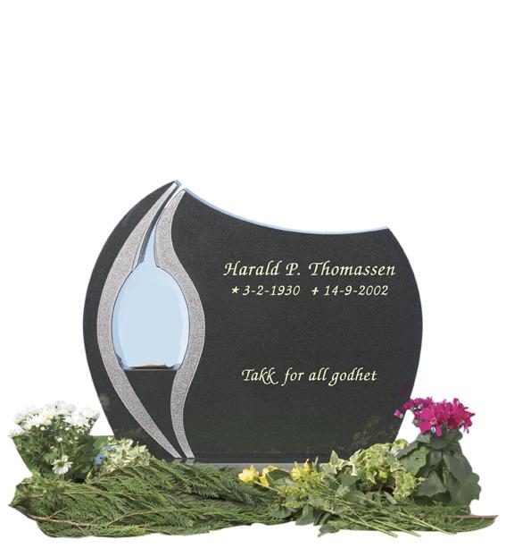 Bilde Komplett gravsten 251