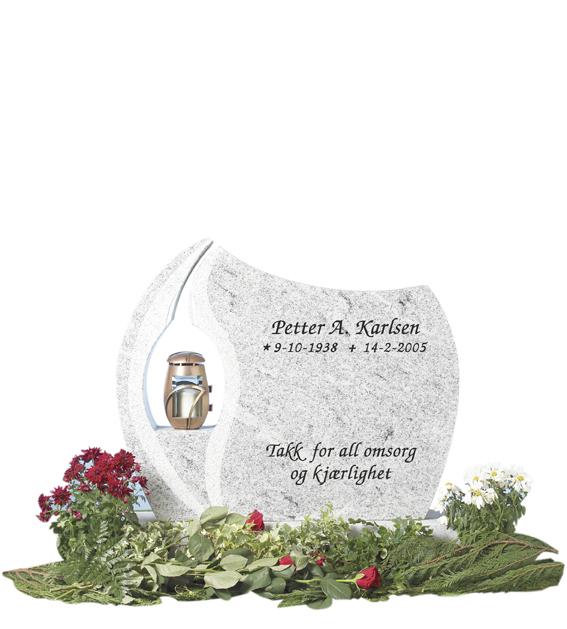 Bilde Komplett gravsten 252 (L)