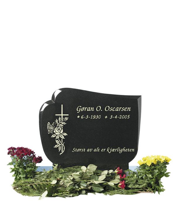 Bilde Komplett gravsten 255 (L)