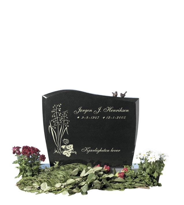 Bilde Komplett gravsten 256