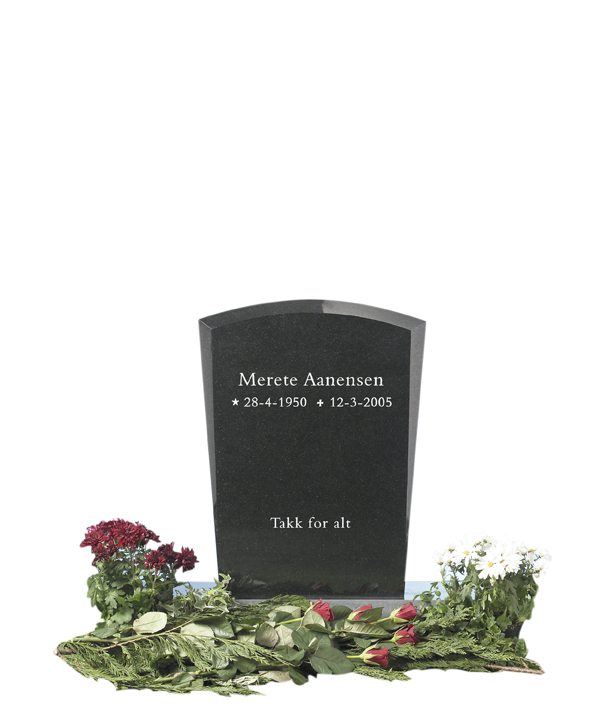 Bilde Komplett gravsten 257