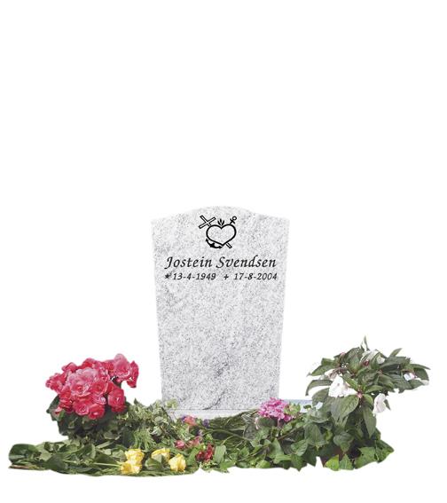 Bilde Komplett gravsten 259