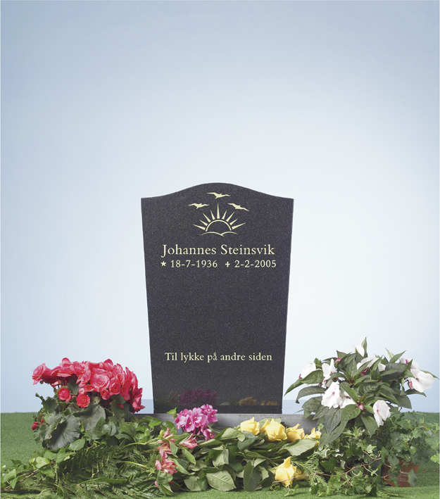 Bilde Komplett gravsten 260