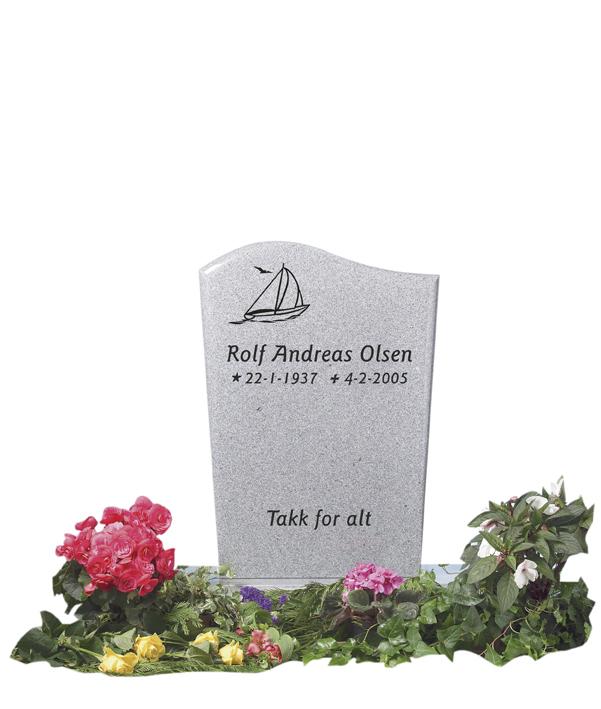 Bilde Komplett gravsten 261