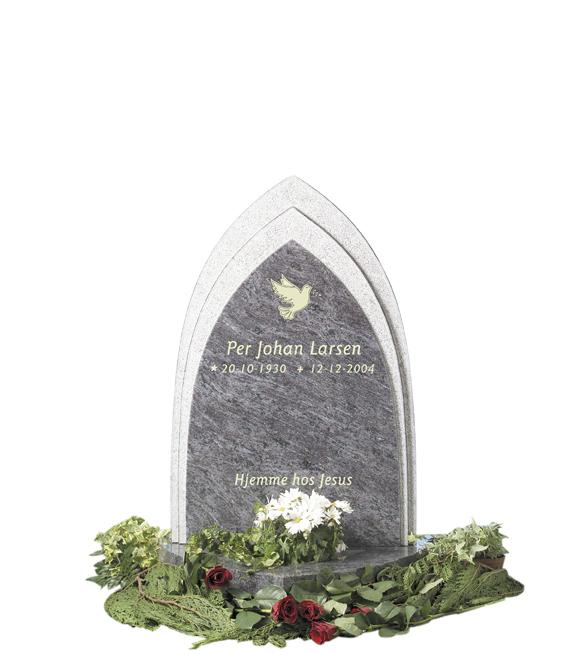Bilde Komplett gravsten 267