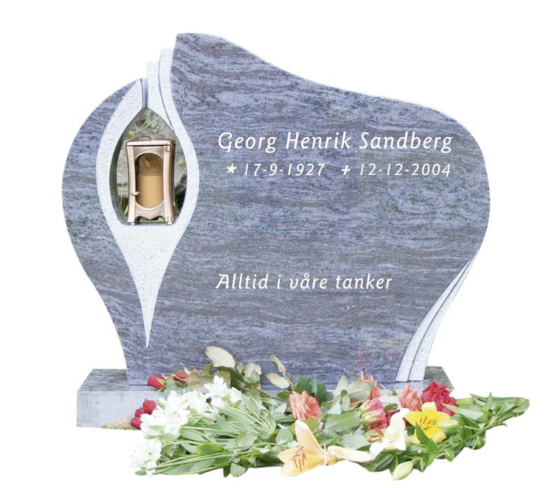 Bilde Komplett gravsten 286