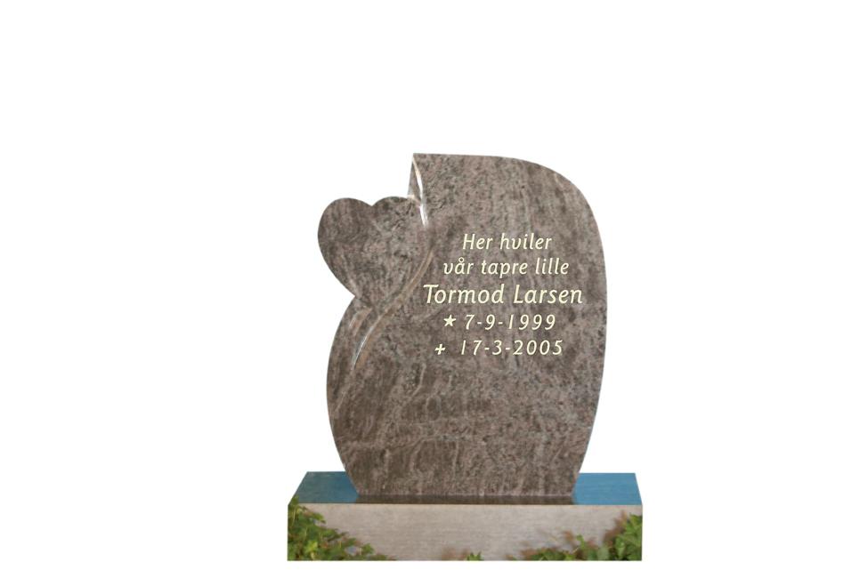 Bilde Komplett gravsten 280