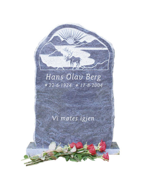 Bilde Komplett gravsten 294