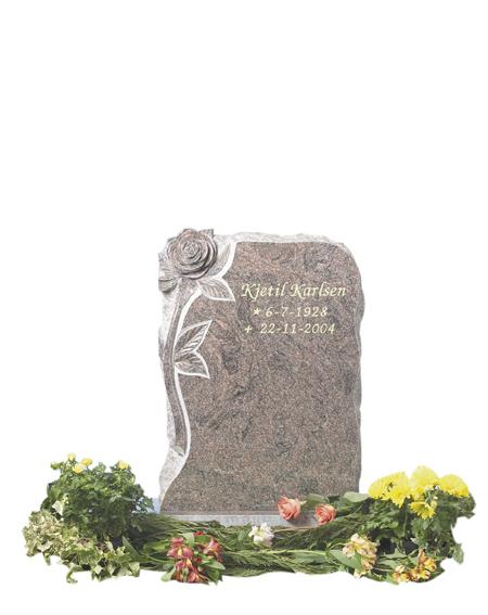 Bilde Komplett gravsten 307
