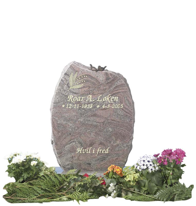 Bilde Komplett gravsten 309