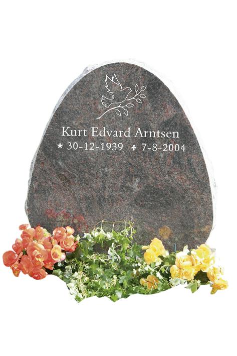 Bilde Komplett gravsten 311